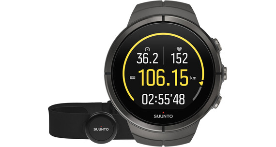 Suunto Spartan Ultra Titanium Watch Chest HR Stealth